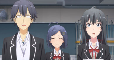 Yahari Ore no Seishun Love Come wa Machigatteiru. Kan – 09 a 12 (Blu-ray)